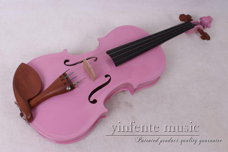 pink  violin  color 4  string 4/4 Violin Electric Violin Acoustic Violin Maple wood Spruce wood Big jack  1-2#   color one red 4 string 4 4 violin electric violin acoustic violin maple wood spruce wood big jack color