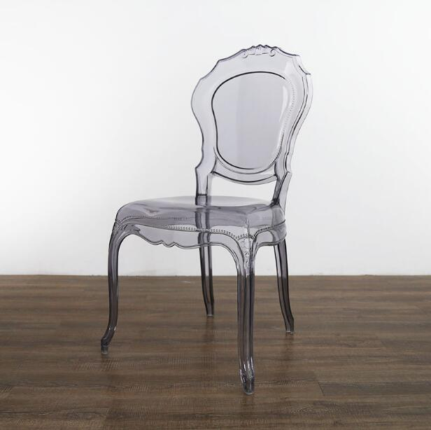 YINGYI New Arrival Modern Plastic Dining Chair With/Without Arms Free Shipping