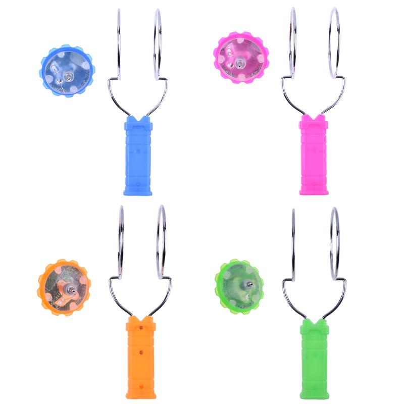 Glitter Gyro Wheel Children Toys Magnetic Magic Spinning Laser Gyro Hand-cranked Flash Gyro Childrens Funny Toys Kids Gifts