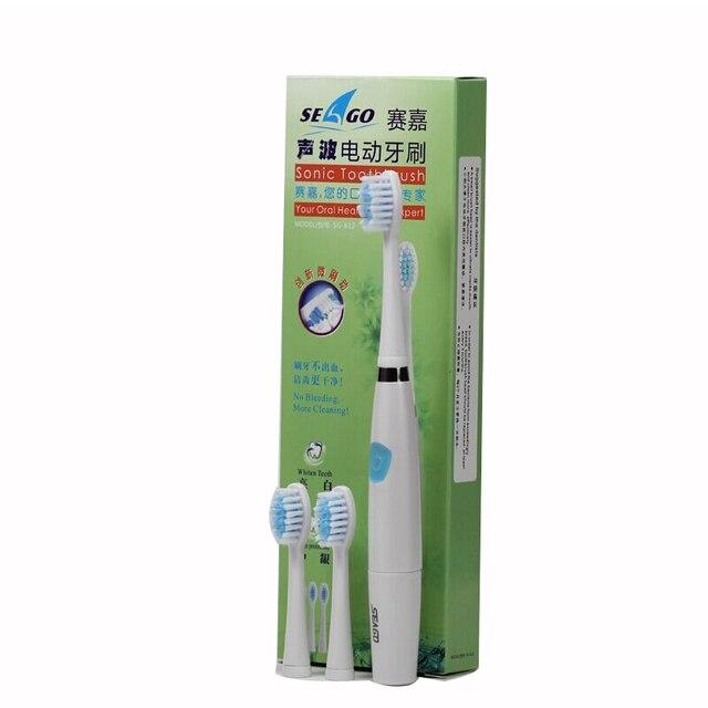 AAA Батареи Sonic Электрическая Зубная Щетка Для Взрослых Автоматическая Мягкой щетиной Зубной Щетки Портативный Зубная Щетка YCSG-6120