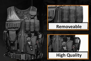 Image 5 - High Quality Tactical vest security outdoor training combat CS field protection vest For Paintball Game SWAT Team