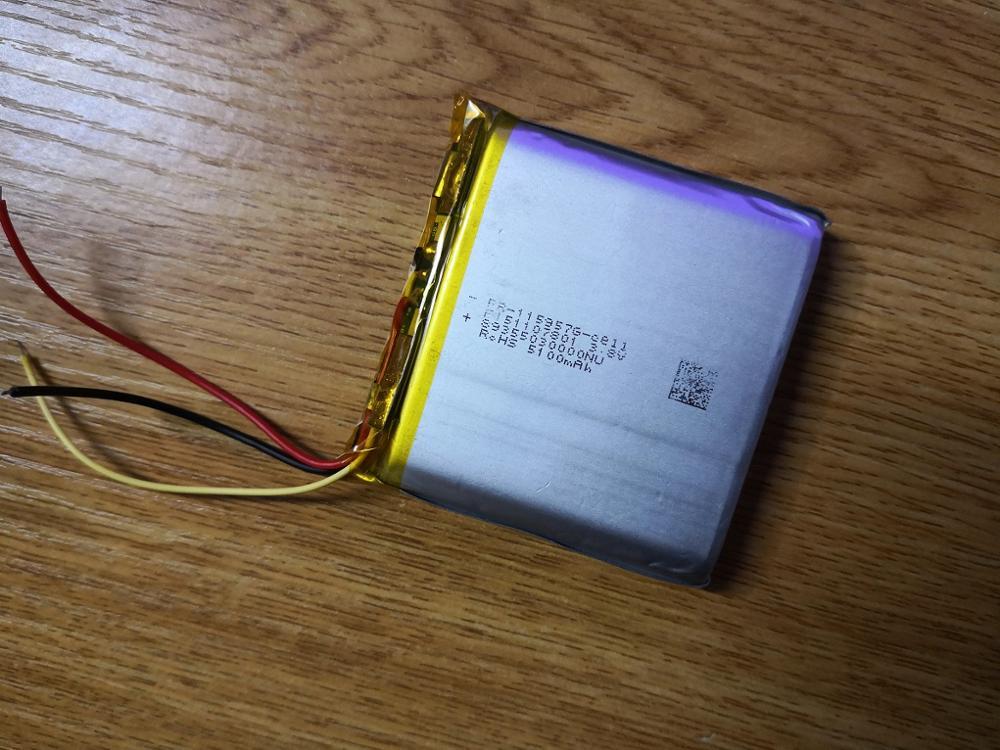Nouveau chaud une cellule Li-ion conquérir conquête S6 batterie de téléphone mobile 3.7 V 3 fils batterie au lithium polymère Rechargeable de grande capacité