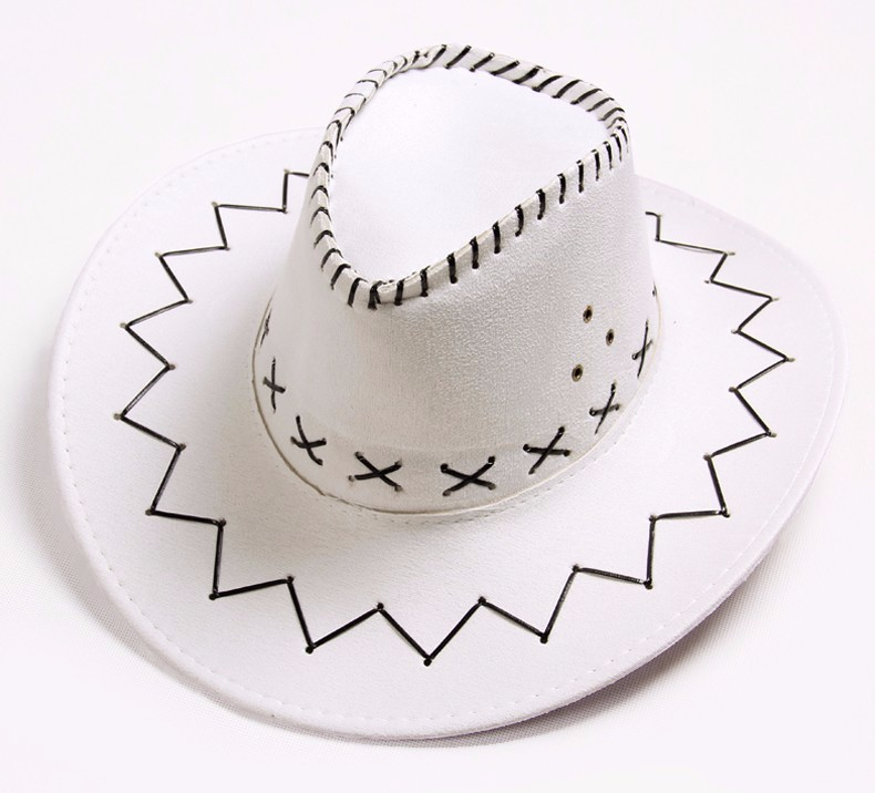 6ae41a52eae DreamShining 16 Colors Men s Cowboy Women Hat Sun Hat Collapsible ...