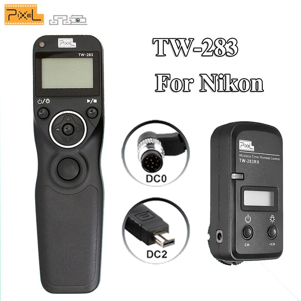 Pixel Tc-252 Dc0 Disparador Remoto Temporizador Para Nikon Mc-30