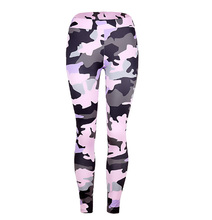 Flying Roc 2019 Slim Elasticity Fitness Printing Leggings Breathable Women Plus Size Sexy Hip Pants Workout Push Up