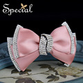 Special New Fashion Bowknot Hair Pins and Clips Rhinestones Hair Accessories Lovely Girls Hair Jewelry Gifts for Women FS16017