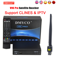 DMYCO V9S DVB-S2 HD Satellite Receiver Support WEB TV Clines NEWCAMD IPTV BOX With IPHD Xtream Stalker IPTV youtube youporn