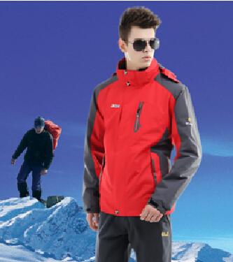ФОТО Dropshopping Spring Winter Fall Man's outdoor Jacket  Waterproof Hiking Ski & snowing 8810