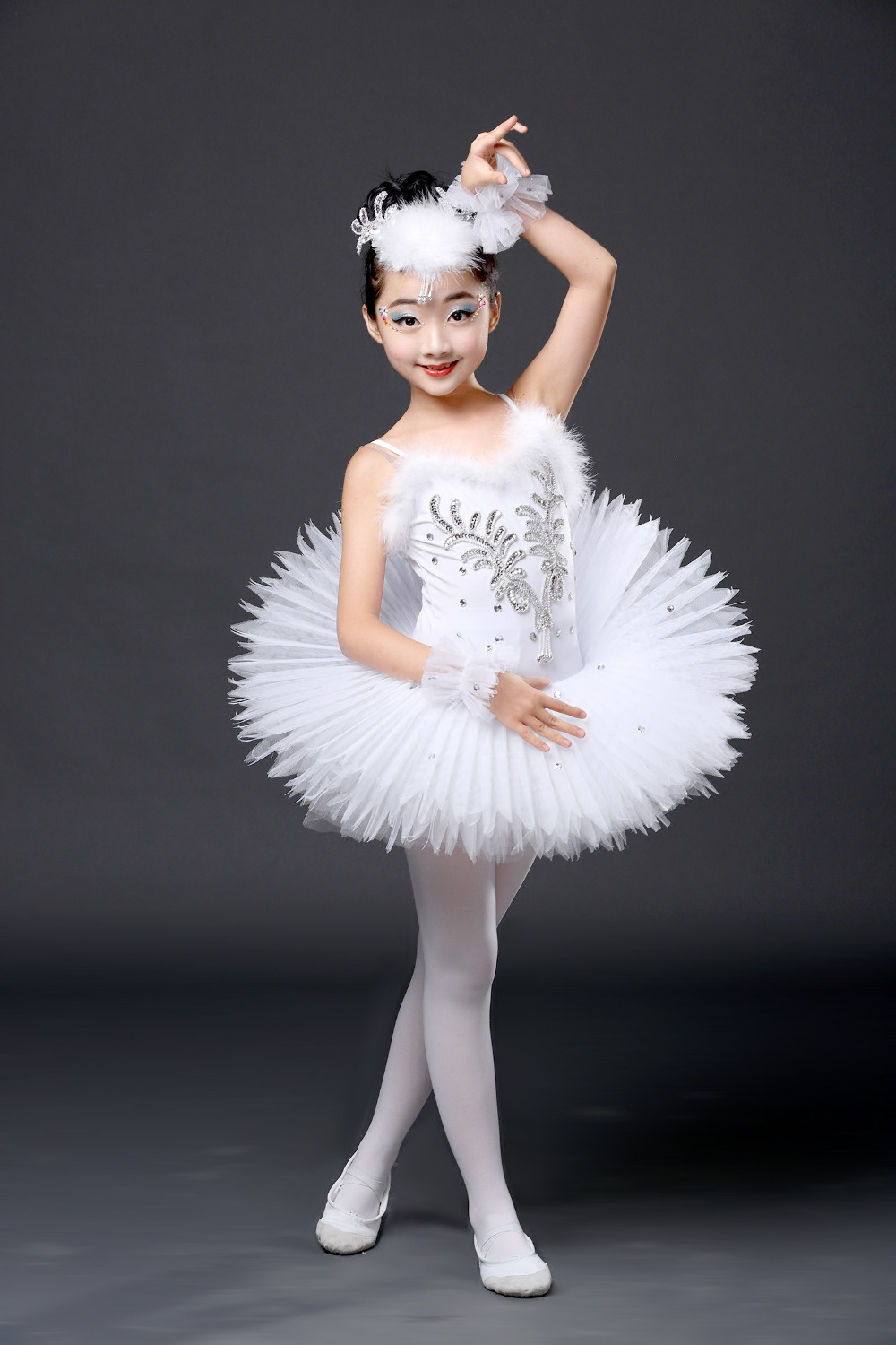 412199cbe378 Detail Feedback Questions about New White Diamond Ballet Dress ...