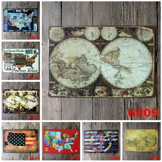 20x30cm tin sign wall decor retro metal bar poster beer old ancient 20x30cm tin sign wall decor retro metal bar poster beer old ancient world map globe in door plates from home improvement on aliexpress alibaba group gumiabroncs Image collections