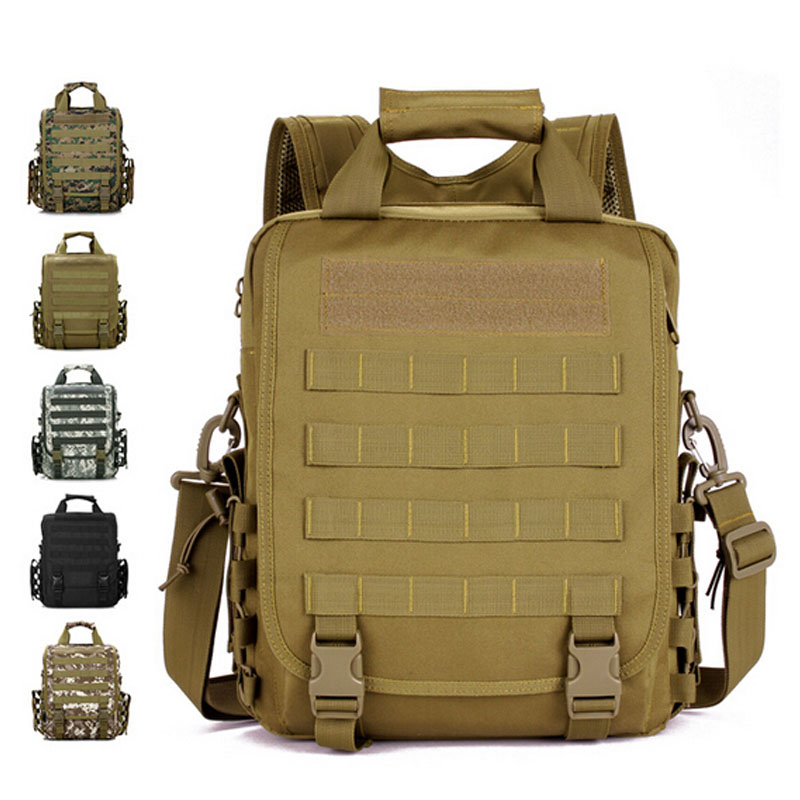 ФОТО MOLLE Military Tactics Backpack Men's 3P Woodland Sustainment  mochilas Male Army Camouflage Shoulder Bags Tote Bags