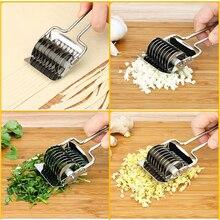 Vegetable Chopper Slicer Knife-Cutter Coriander Kitchen-Accessories Garlic Stainless-Steel