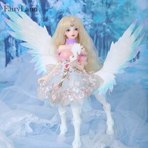 Image 2 - Fairyland 구체관절인형 fairyline lucywen 인형 bjd sd 1/4 바디 수지 피규어 모델 소녀 눈 고품질 장난감 가게 oueneifs  fl msd