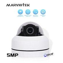 5MP Мини PTZ IP камера наружная Водонепроницаемая 1080P HD скорость купольная камера s PTZ 4x моторизованный зум домашняя Камера Безопасности s ночное видение