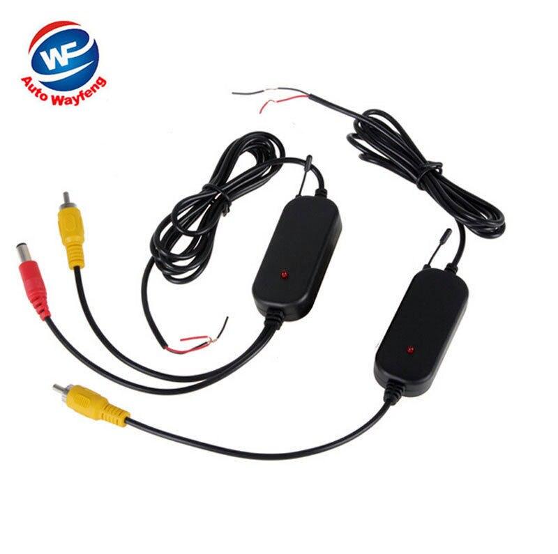 2.4G DRAADLOZE Module adapter 2.4G draadloze ontvanger voor Auto Monitor back-up Reverse Achteruitrijcamera 2.4G draadloze zender W