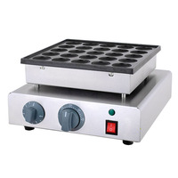 commercial 25 pcs dorayaki mini dutch pancakes machine mini Poffertjes Grill