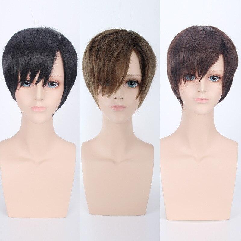 harajuku cosplay anime men's black