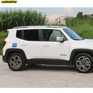 Image 2 - Luhuezu Alloy Gas Cover Fule Tank Cover For Jeep Renegade Accessories 2015 2016 2017