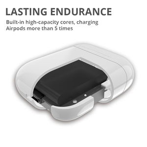 Image 4 - Wireless Charging Box For Airpods Apple Bluetooth Earphone Airpods Charger House Perfect Match Apple Headset Wireless Charger