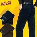Новый 2016 вельвет мужские брюки цю дон Высокой упругой талии более случайные штаны вельветовые