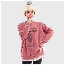 Пуловер Толстовка для кормления грудью обычной длины с буквенным принтом и длинными рукавами весенний свитер Одежда для беременных