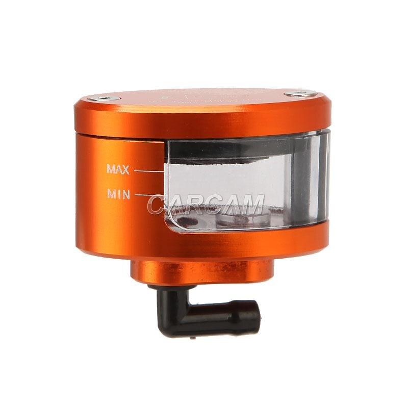 Orange Front Brake Reservoir Oil Cup For Honda Scrambler CL 100 175 200 350 450