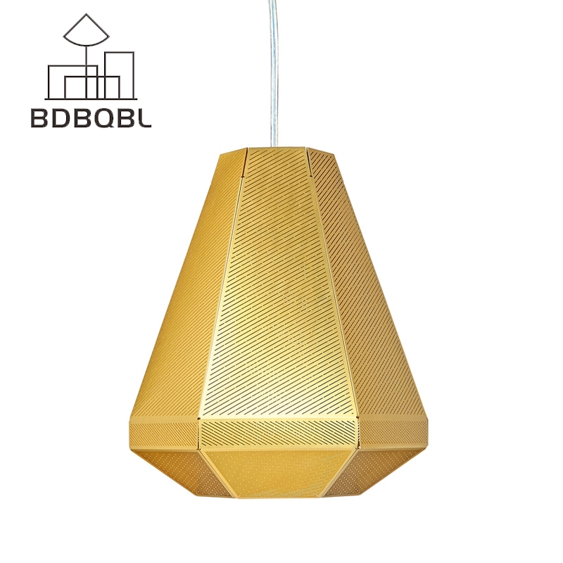 Здесь продается  BDBQBL Modern Industrial Pendant Lights Loft Metal Art Pendant Lamps Stainless Steel Livingroom Dining Room Gold Free Shipping  Свет и освещение