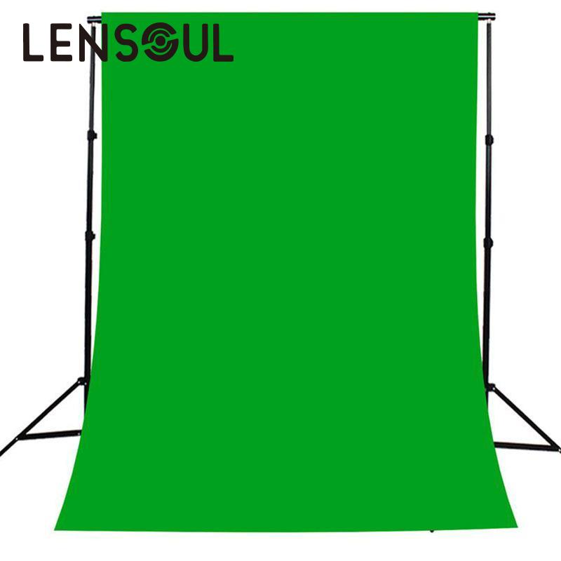 lensoul  2*3M Photo Background Photography Backdrops Backgrounds Studio Video Nonwoven Fabric Green Screen