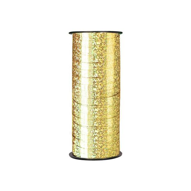 1pc 100 Yard Crimped Curling Ribbon Roll Silver Gold Balloon Ribbons I love you happy birthday Florist Crafts And Gift Wrapping