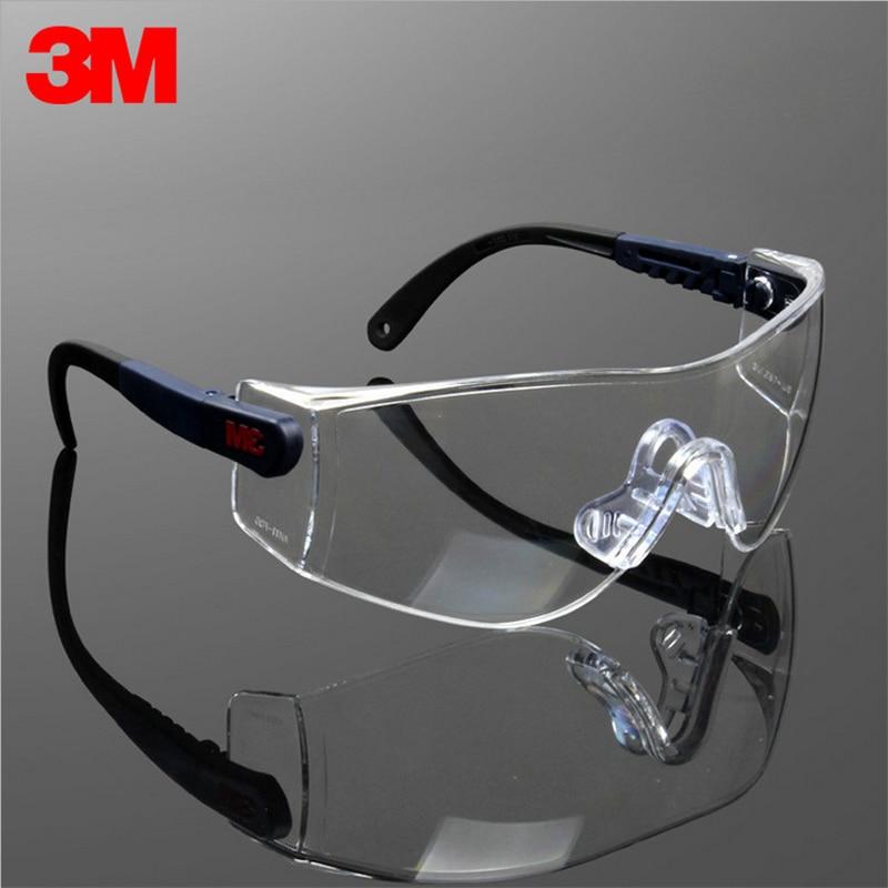 6a10106d66f 3M10196 Safety Glasses Goggles Anti-wind Anti sand Anti Fog Anti Dust  Bicyle Sport Travel Work Labor Protective Glasses Eyewear