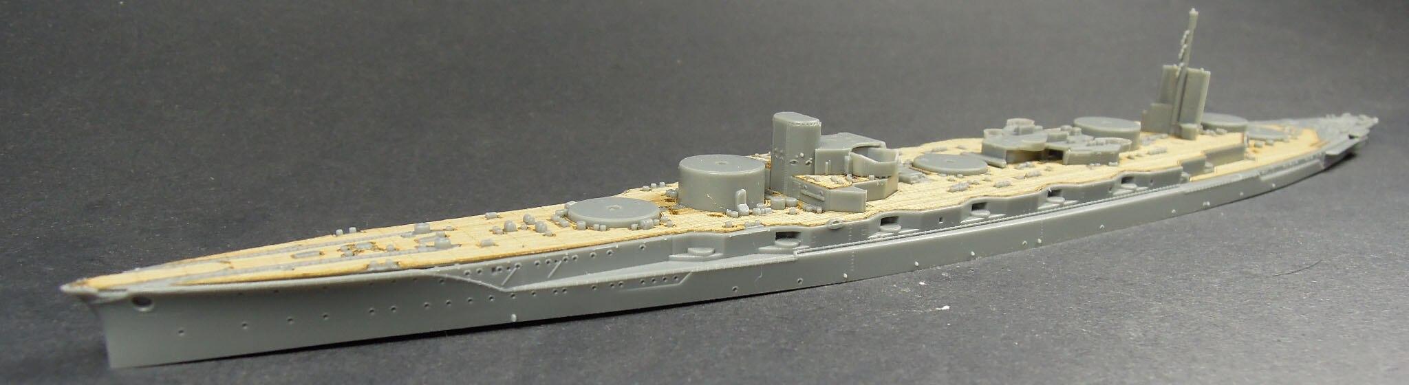 /FUJIMI ARTWOX 401188 Navy Japanese battleship Fuso wooden deck 1944 W20105