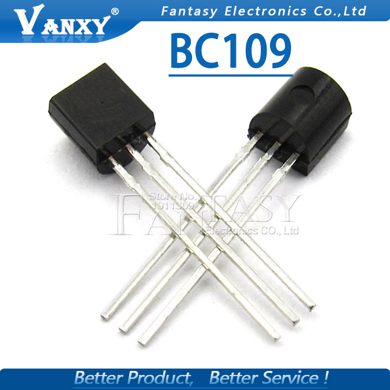 10pcs BC109 TO92 Transistor TO-92 New Original
