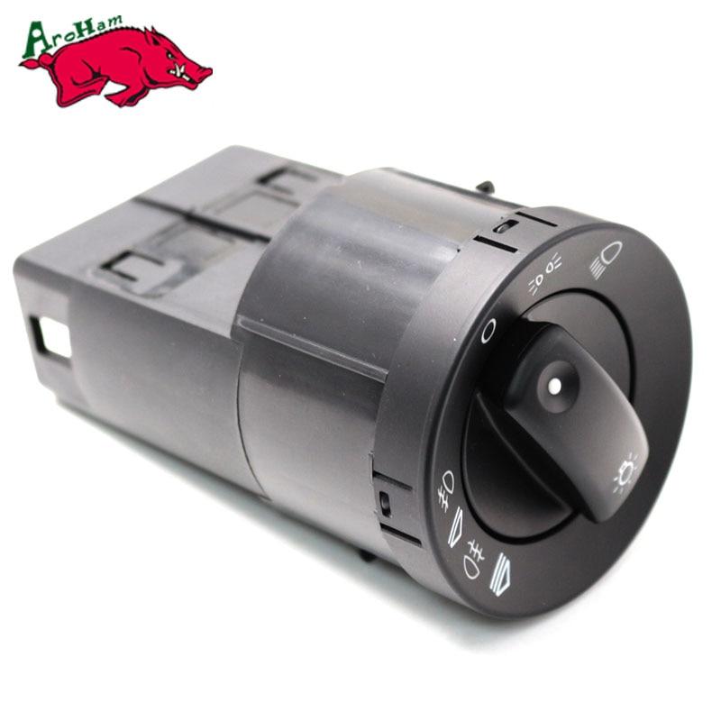 Harbll 8E0941531A Headlight Head Light Headlamp Control Switch For Audi A4 Quattro 2002 2003-2005 2006 2007 2008 S4 2004 2005