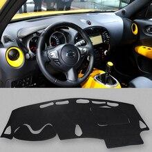 car aoto dashmats car-styling accessories dashboard cover for nissan juke 2011 2012 2013 2014 2015 2016 2017