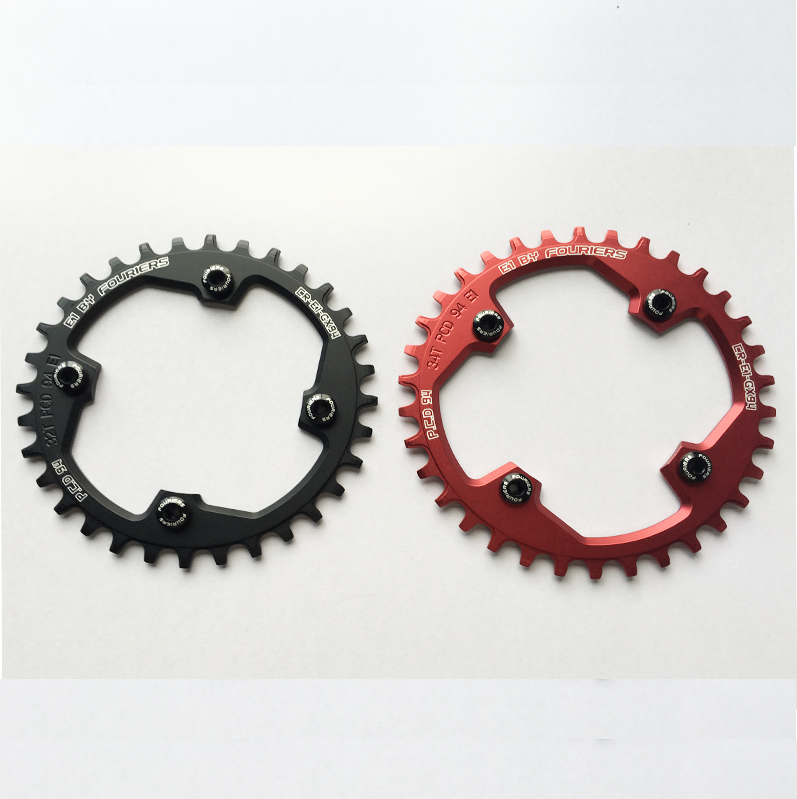 7075T6 CNC mtb Chain Ring 94PCD 32T34T36T MTB bike bicycle crank chainring tooth Disc / chain ring Bicycle parts aluminum alloy bicycle crank chain wheel mountain bike inner bearing crank fluted disc mtb 104bcd bike part