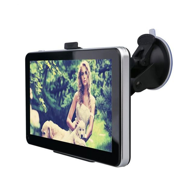 """7"""" Silky Appearance Car GPS Module Navigation 8G 128M GPS Car Multimedia Player Lifetime Free Map Update For US/RUSSIA/SPAIN"""