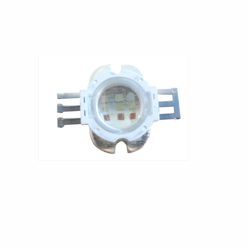 20X Factory direct wholesale 9W high power RGB LED diode high quality 9W rgb LED light source free shipping
