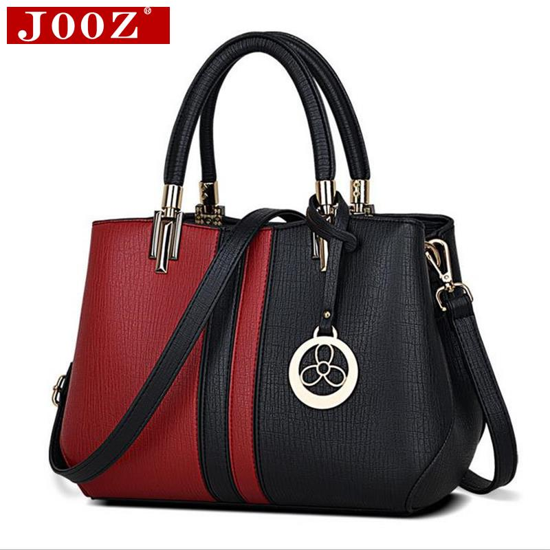 JOOZ 2017 new women Messenger bag casual wild ladies party purse clutches fashion patchwork tote bag sweet female shoulder bag yuanyu free shipping 2017 hot new real crocodile skin female bag women purse fashion women wallet women clutches women purse