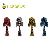 Lagopus Crack Kendama Professional Wooden Toys Kendama Skillful Juggling Ball Traditional Japanese Toy Gift For Kids