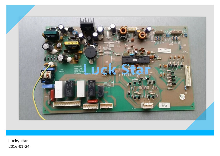 95% new for Haier refrigerator computer board circuit board BCD-568W BCD-568WT 0064000419 driver board good working 95% new for haier refrigerator computer board circuit board 0064000230d bcd 228wbs bcd 228wbsv driver board good working