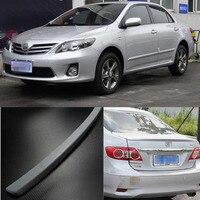 Спортивные Класс интенсивность твист ПУ Made Spolier крылья для Toyota Corolla 2011 2012