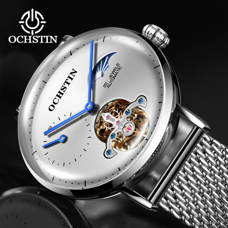 Top Brand Luxury Men Watches Automatic Tourbillon Mechanical Watch Casual Business Sports Male Clock Steel Wrist Watches RelojesTop Brand Luxury Men Watches Automatic Tourbillon Mechanical Watch Casual Business Sports Male Clock Steel Wrist Watches Relojes