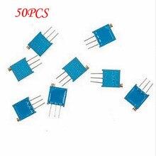50PCS 3296W-1-102F 3296W 1K ohm 102 Trimpot Trimmer Potentiometer
