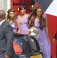 Purple Bridesmaid Dresses 2016 Rrobe de Demoiselle d Honneur Femme Long Chiffon Bridesmaid Dresses