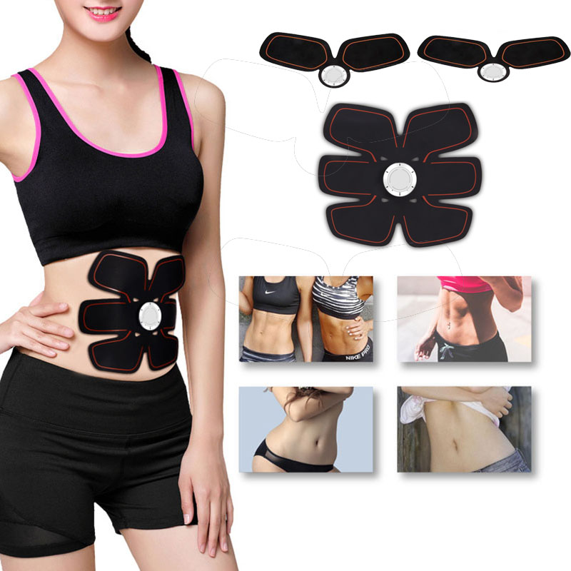 EMS Electric Training Loss Slimming Massager Abdominal Exercise Training Hous Abdominal Arm Muscles Intensive Training Tool 30