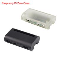 Raspberry Pi Zero W Case ABS Box Black Transparent Cover Shell for Raspberry Pi Zero Enclosure Case