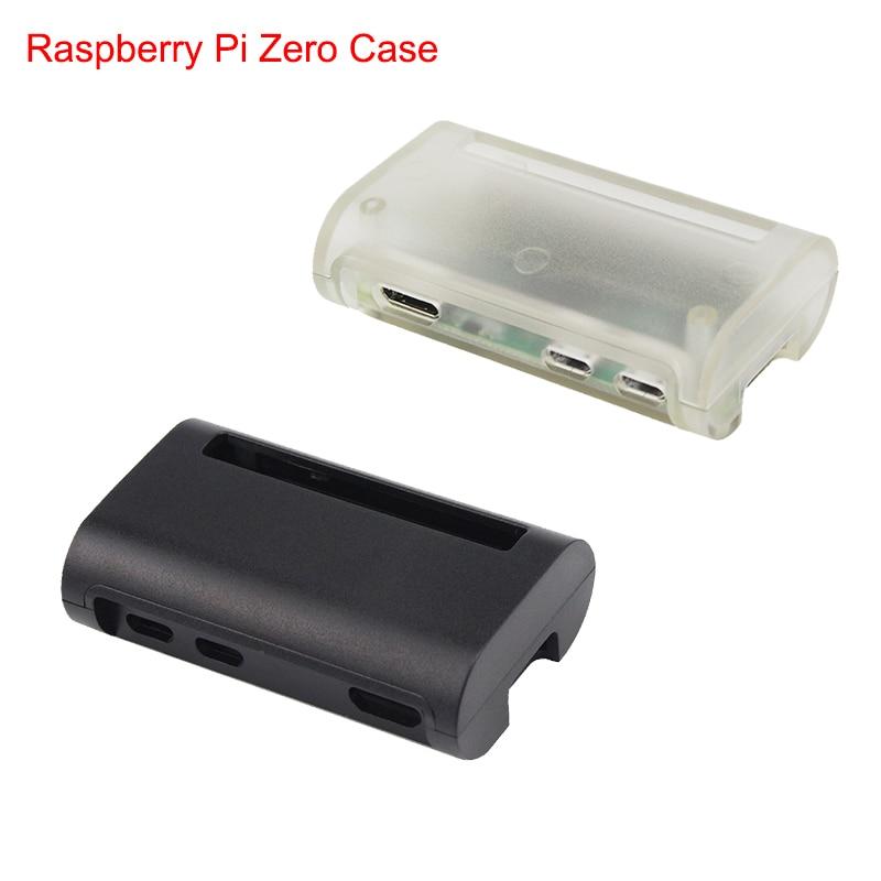 Raspberry Pi Zero W Case ABS Box Black Transparent Cover Shell for Raspberry Pi Zero Enclosure Case protective abs shell case box for raspberry pi b black