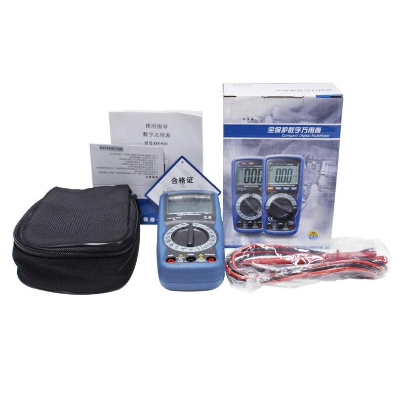 multímetro digital profesional Rango automático Probador de - Instrumentos de medición - foto 6