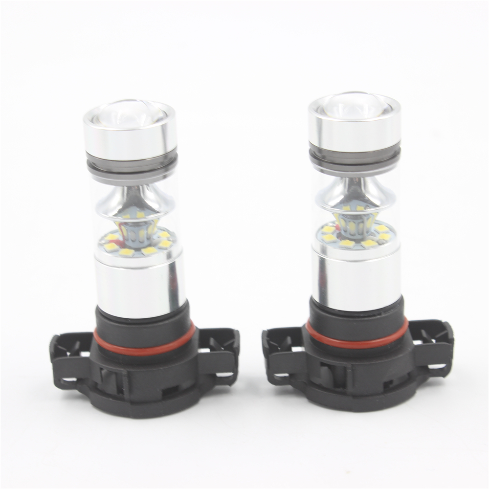 2 հատ / 1 լոտ բարձր հզորություն 100W PSX24W LED - Ավտոմեքենայի լույսեր - Լուսանկար 1