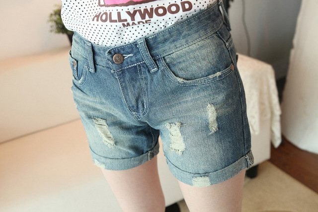 Free shipping Hot Selling Lady denim shorts,women's jeans shorts,hot sale ladies' denim short pants size:S M L, Streetwear